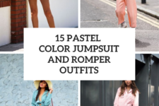 15 Outfits With Pastel Colored Jumpsuits And Rompers