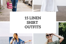 15 Women Outfits With Linen Shirts