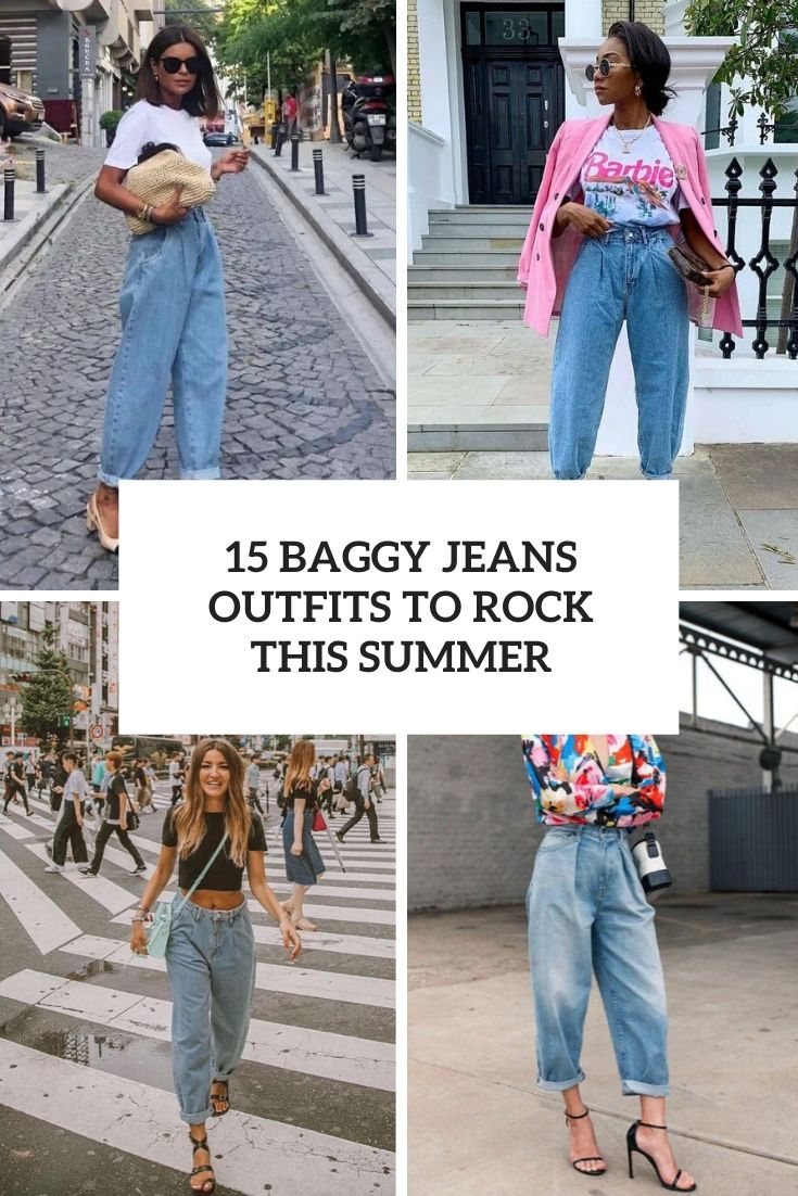 baggy jeans outfits to rock this summer cover