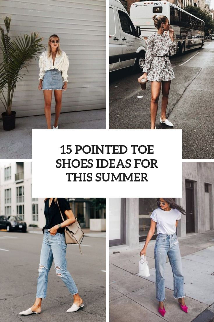 15 Pointed Toe Shoes Ideas For This Summer