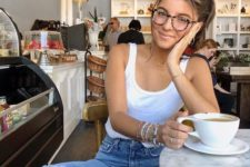 a white top is a summer staple for every girl