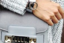 a catchy silver bracelet will accent any look you are going to rock, choose a rough-looking one