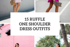 15 Looks With Ruffle One Shoulder Dresses