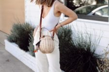 a white top is perfect addition to summer outfits