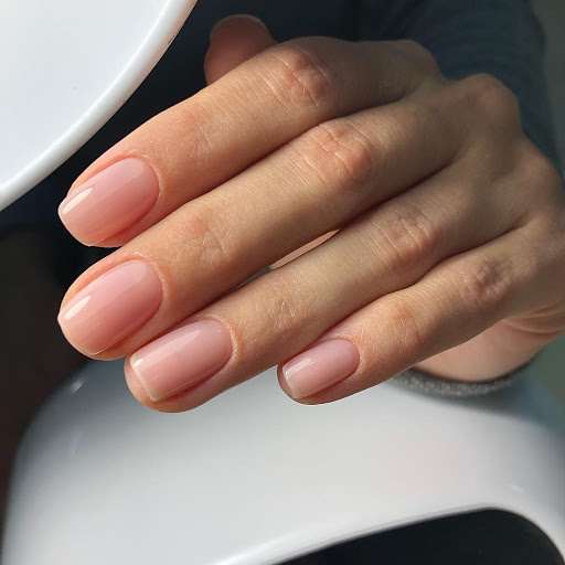 if you still want some polish, go for sheer polish or a nail hardener and nothing else