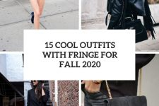 15 cool outfits with fringe for fall 2020 cover