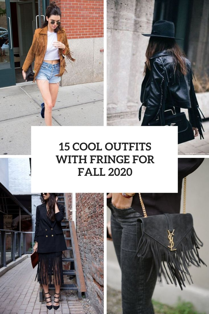 cool outfits with fringe for fall 2020 cover