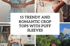 15 trendy and romantic crop tops with puff sleeves cover