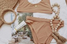 minimalist beachwear is perfect for this year