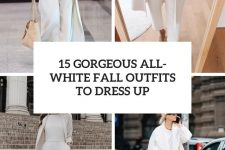 15 gorgeous all-white fall outfits to dress up cover