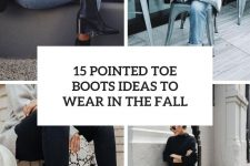 15 pointed toe boots ideas to wear in the fall cover