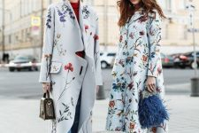 16 pastel floral coats will be a trendy idea for this fall and a romantic touch to your outfits in spring