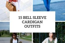 15 Looks With Bell Sleeve Cardigans