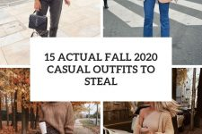 15 actual fall 2020 outfits to steal cover