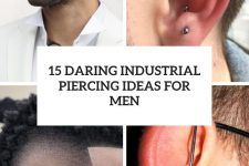 15 daring industrial piercing ideas for men cover