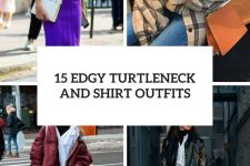 15 edgy turtleneck and shirt outfits cover