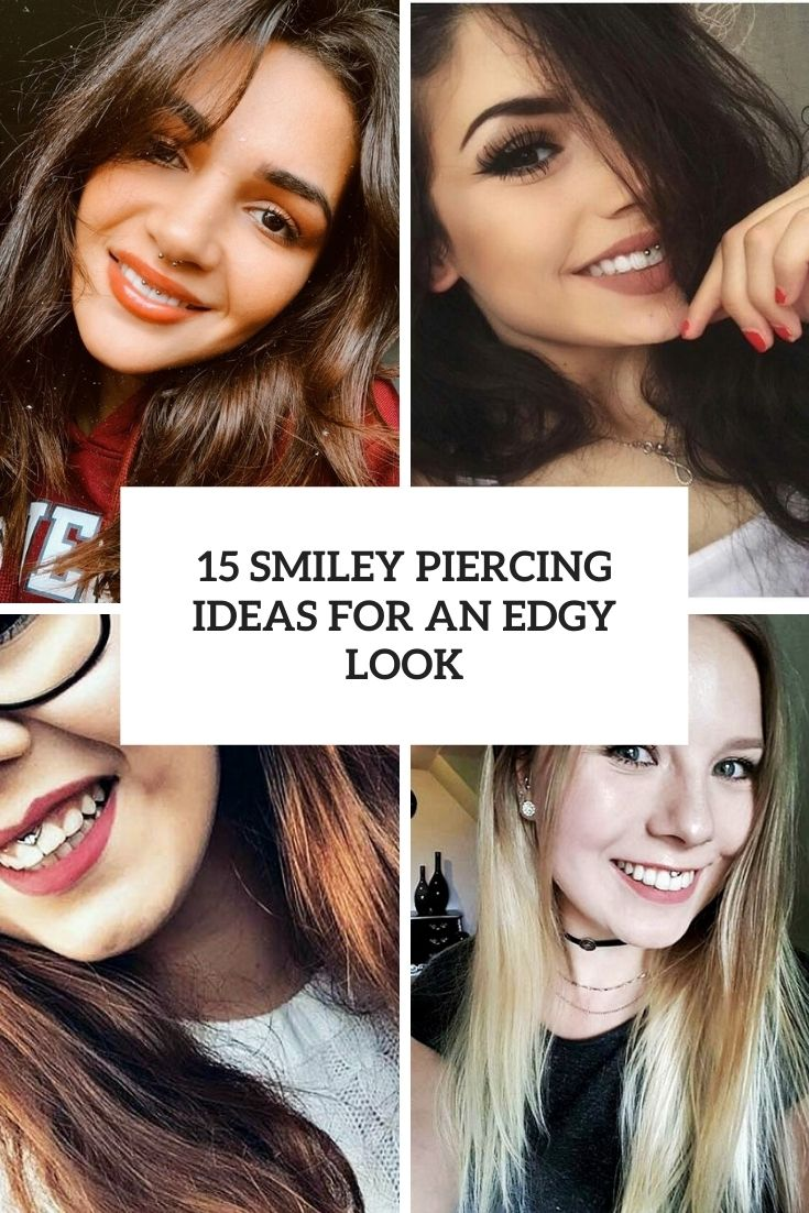 15 Smiley Piercing Ideas For An Edgy Look
