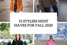 15 stylish must haves for fall 2020 cover