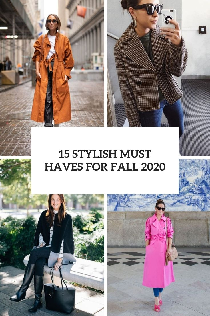 stylish must haves for fall 2020 cover