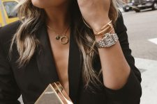 layering necklaces is a modern way to rock jewellery