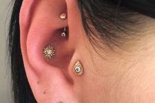 rock and tragus piercing ideas