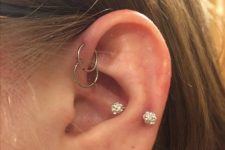 forward helix is also a trendy piercing idea