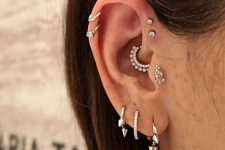 daith piercing works well with forward helix one