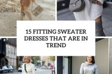 15 fitting sweater dresses that are in trend cover