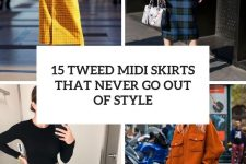 15 tweed midi skirts that never go out of style cover