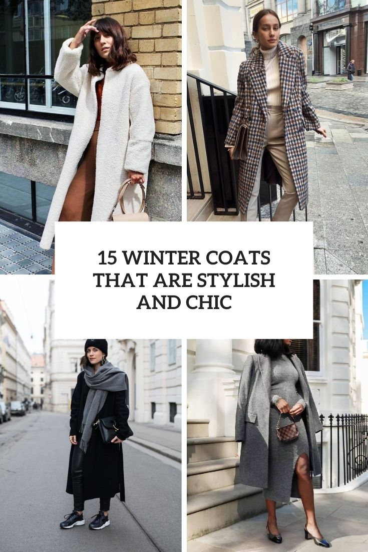 15 Winter Coats That Are Stylish And Chic