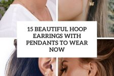 15 beautiful hoop earrings with pendants to wear now cover