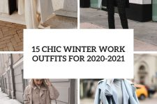 15 chic winter work outfits for 2020-2021 cover