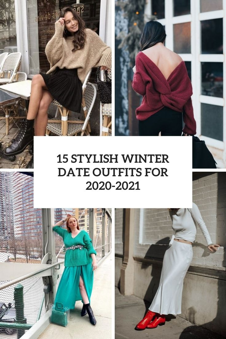 stylish winter date outfits for 2020 2021 cover