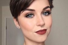 15 such a modern and stylish pixie with a bit of volume and texture is an ideal option to go for