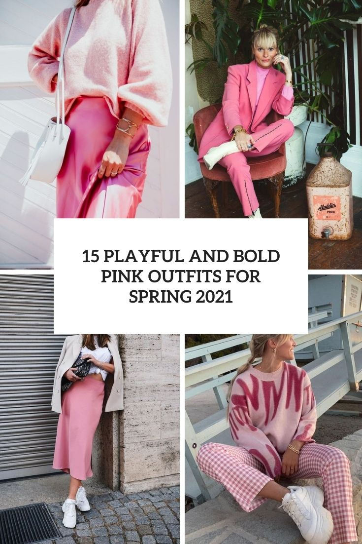 playful and bold spring outfits for spring 2021 cover