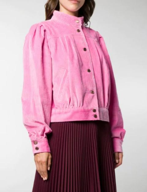 With marsala pleated midi skirt