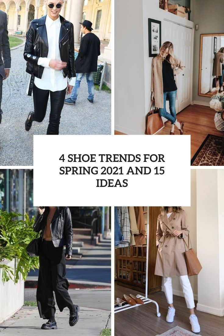 4 shoe trends for spring 2021 and 15 ideas cover