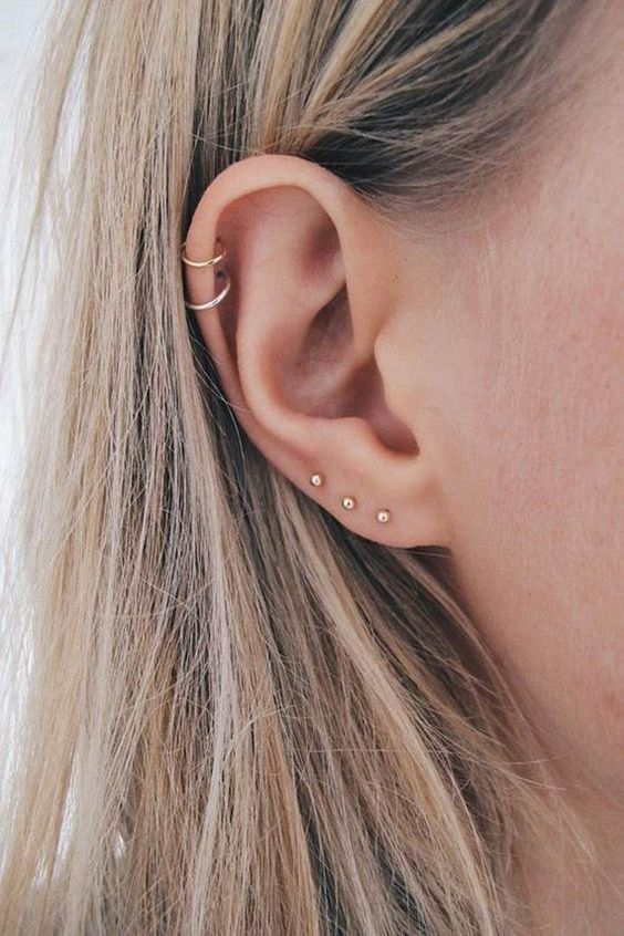 cool minimalist earrings always works great