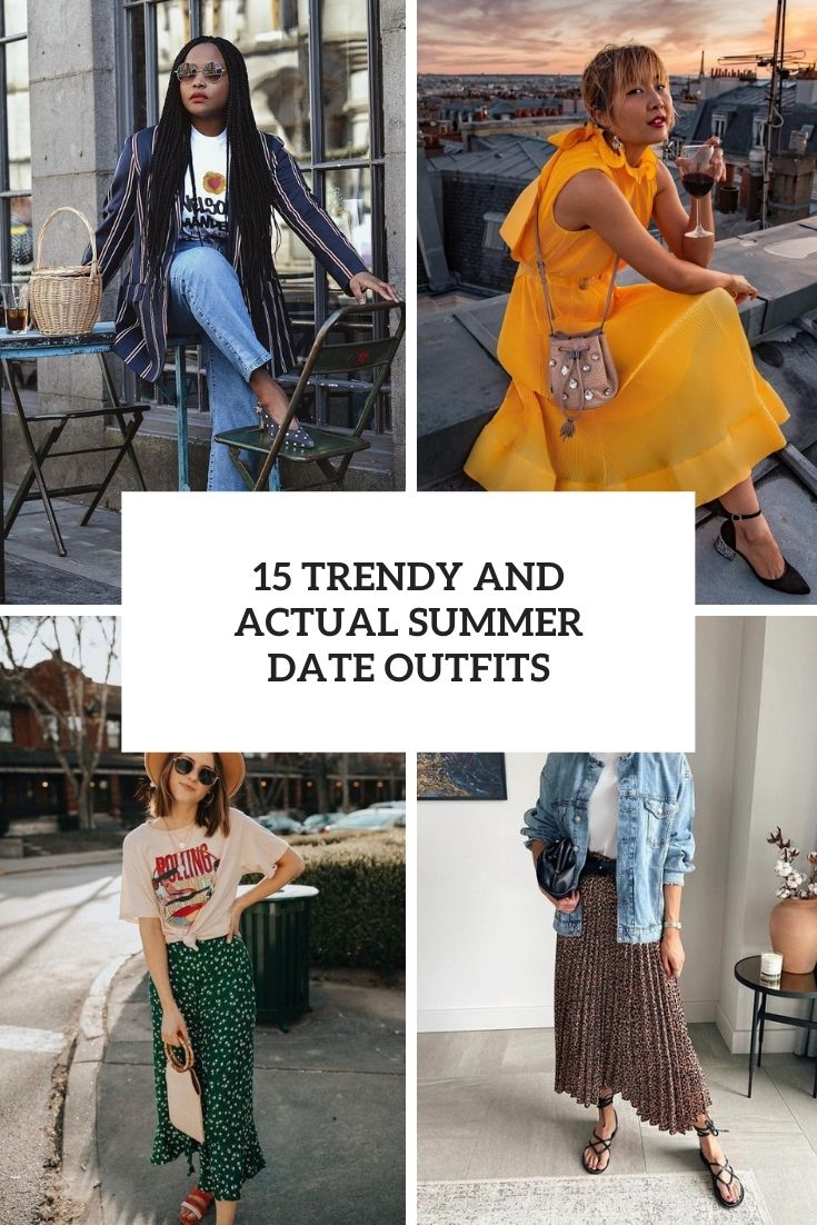 15 trendy and actual summer date outfits cover