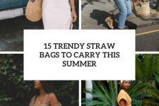15 trendy straw bags to carry this summer cover