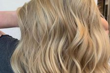 27 long sunkissed honey blonde hair with slight waves is a lovely idea for the beach season