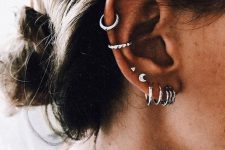 a multiple ear piercing idea