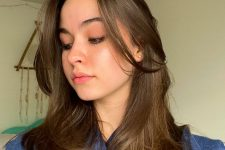cute long layered haircute that is in trend