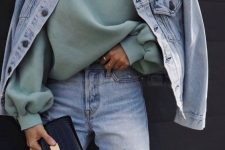 a cool look for fall with a hoodie
