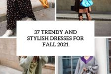 37 trendy and stylish dresses for fall 2021 cover