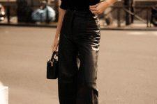 a stylish fall monochromatic outfit