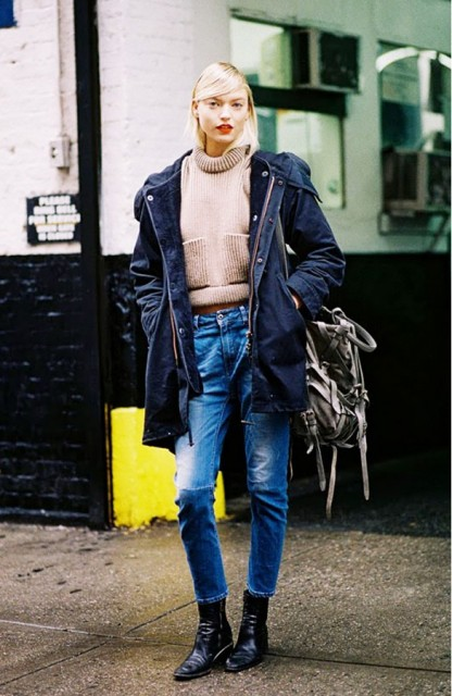 Picture Of Cropped Sweaters That You Can Wear Today 10