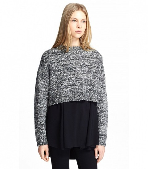 Picture Of Cropped Sweaters That You Can Wear Today 16