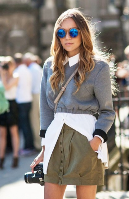 Picture Of Cropped Sweaters That You Can Wear Today 2