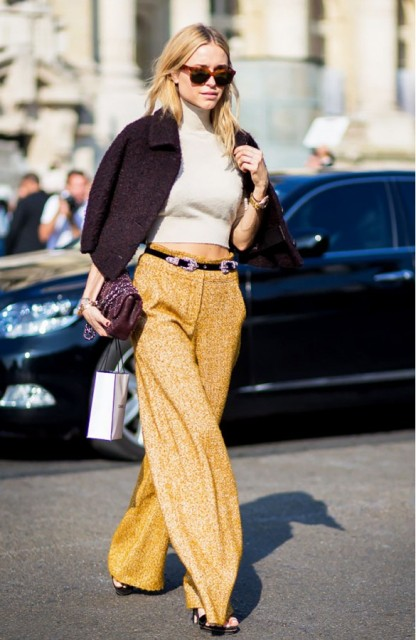 Picture Of Cropped Sweaters That You Can Wear Today 7